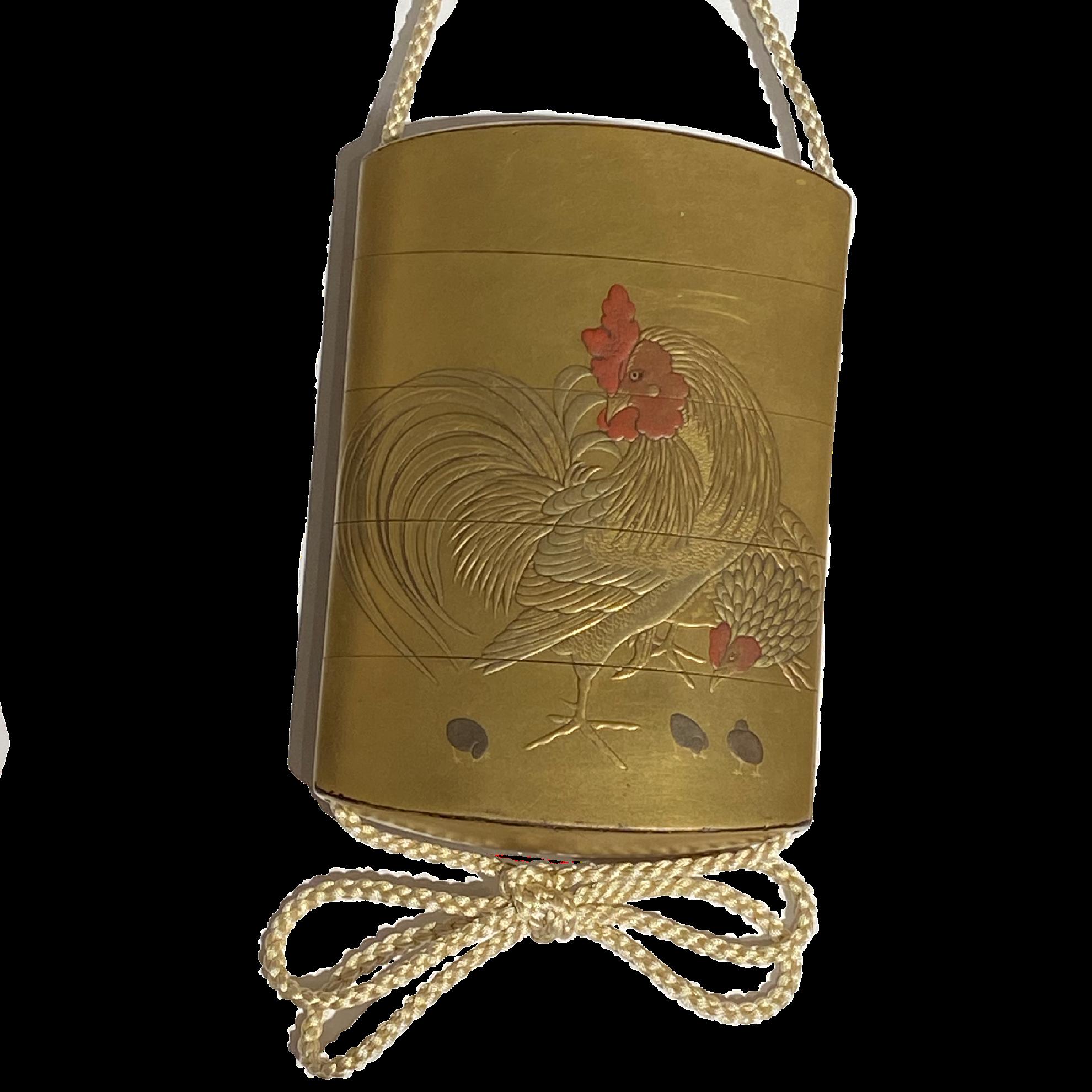 Japon, inro en laque, milieu du 19ème siècle
