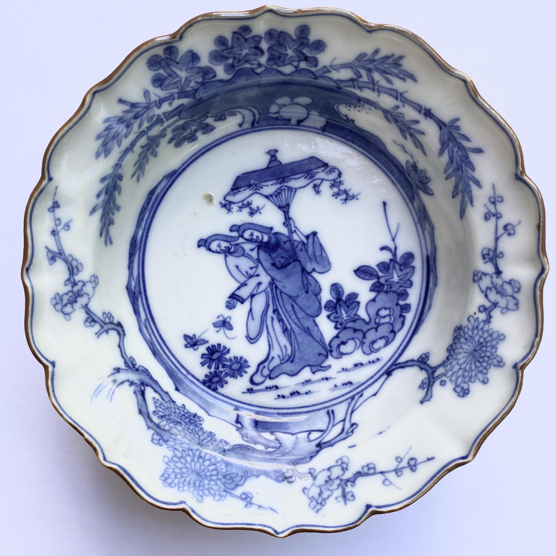 Japon, Coupe en porcelaine de Arita c.1690 - 1740