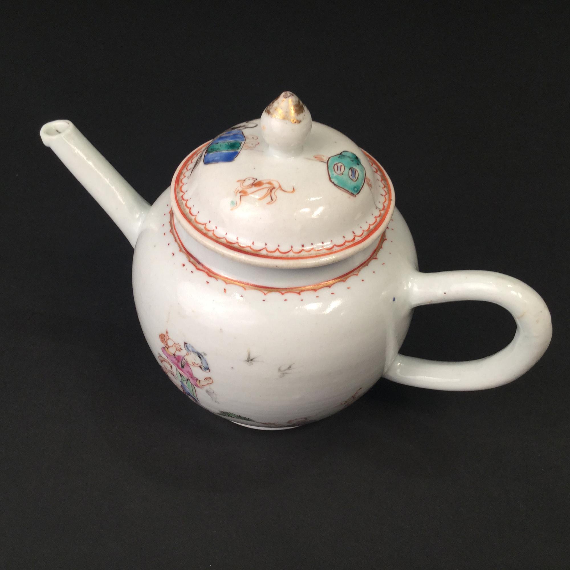 Chine, Theière en compagnie des Indes, 18ème siècle.
