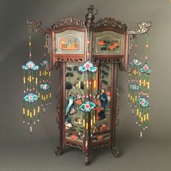 Chine, lanterne 19ème siècle
