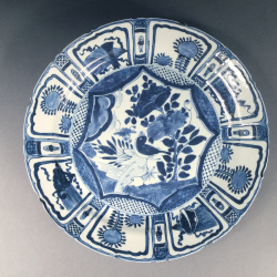 Plat Kraak, époque Wanli, circa 1600.