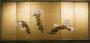 Japon, Paire de paravents, école de Rimpa, fin de lépoque Edo