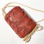 Vendu / Sold Inro en laque rouge tsuishu, Japon époque Edo