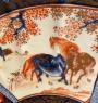 Japon, Arita, Très Grand plat Imari, époque Meiji.