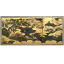Japon, paravent, Ecole de Kano, période Edo, fin du 17ème siècle.