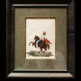 Chine, très rare suite de 11 peintures, XIXème siècle.
