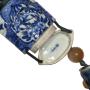 Japan, porcelain inro by Nishimura Hozen (Eiraku Zengoro XI) (1795-1854)
