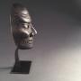 Japon, masque sculpté, époque Edo, 17-18ème siècle.